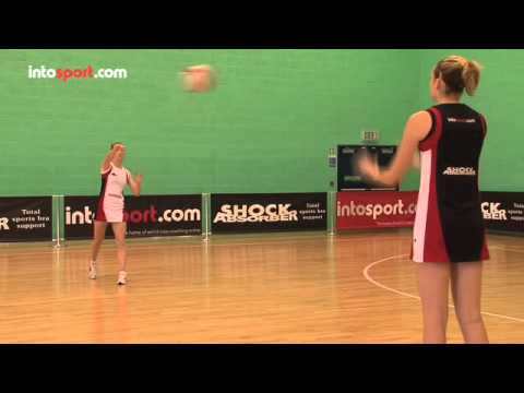 Improve your netball passing skills